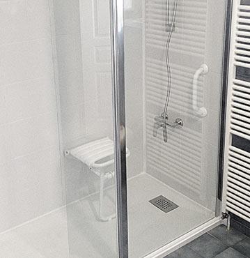 installation douche pour séniors