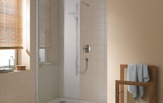 installation de douches sécurisées