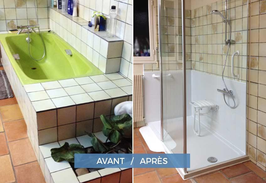 rénovation salle de bain pour senior