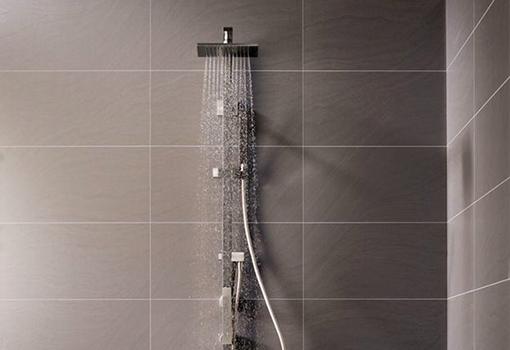douche sur mesure receveur robinetterie etc techni 39 douche s nior. Black Bedroom Furniture Sets. Home Design Ideas