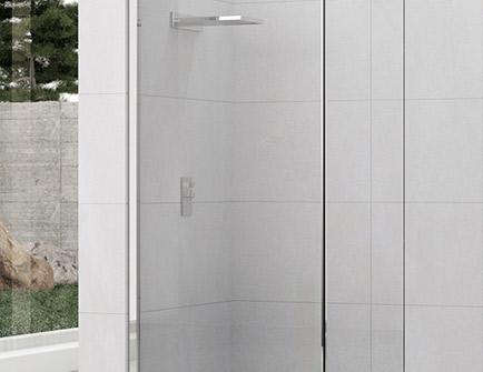 parois de douche haute résistance