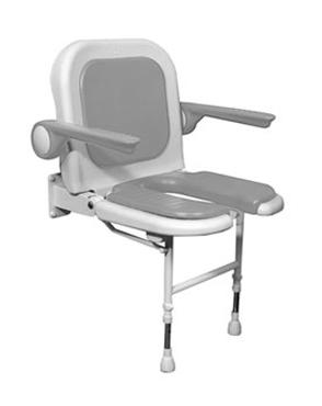 installation de siège pour espace douche